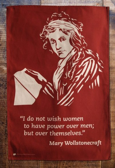 Mary Wollstonecraft (1759-1797) is regarded as a founding feminist philosopher whose book 'A Vindication of the Rights of Woman' argues that women are not in any way inferior to men but lack the educational opportunities of men. She suggests that men and women should be treated as rational beings and proposes a social order founded on reason.