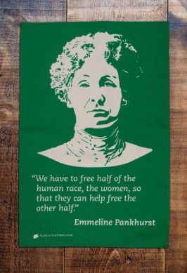 "Emmeline Pankhurst. Suffragette. Time Magazine's 100 Most Important Women said ""She shaped an idea of women for our time; she shook society into a new pattern from which there was no going back"""