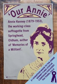 Annie Kenney. Was second in command, under Emmeline Pankhurst, of the Women's Social and Political Union, the highest ranking working class woman.