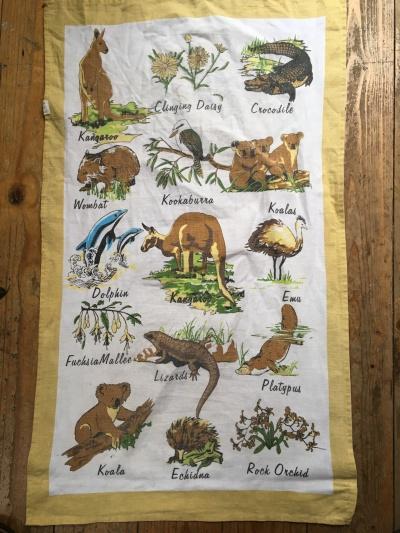 Australian Animals: Vintage. On 'loan' from Hilary