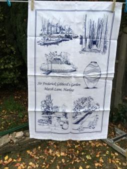 Sir Frederick Gibbert's Garden: 2018. To read the story www.myteatowels.wordpress.com/2019/05/04/sir