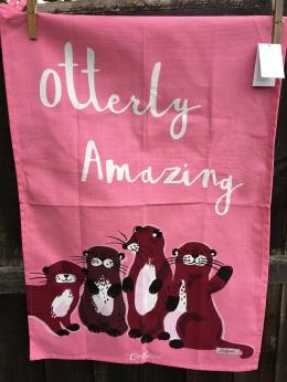 Otterly Amazing: 2018. To read the story www.myteatowels.wordpress.com/2018/09/30/ott