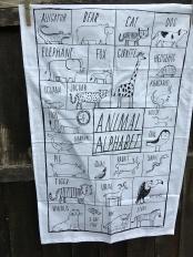 Animal Alphabet: 2018. To read the story www.myteatowels.wordpress.com/2018/10/10/ani