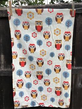 Owls: 2018. To read the story www.myteatowels.wordpress.com/2020/02/03/owls