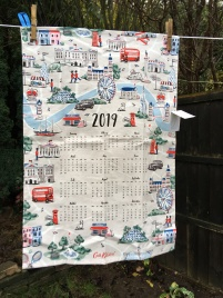 Calendar (Girls): 2019. To read the story www.myteatowels.wordpress.com/2019/03/21/cal