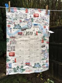 Calendar (Girls): 2019. To read the story www.myteatowels.wordpress.com/2019/03/21/cal