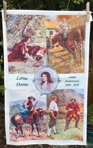 Lorna Doone, A Romance of Exmoor: 2019. To read the story www.myteatowels.wordpress.com/2019/09/06/lor