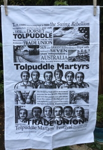Tolpuddle Martyrs: 2019. To read the story www.myteatowels.wordpress.com/2019/10/18/tol