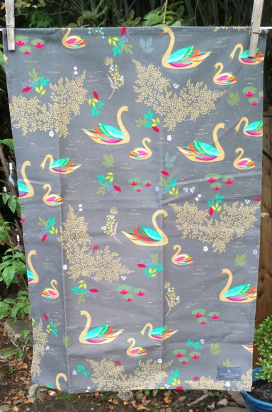 The Multi-Coloured Swan: 2019. To read the story www.myteatowels.wordpress.com/2019/11/06/mul