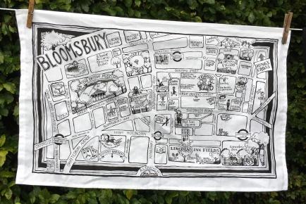 Bloomsbury by Josie Firmin: 2019. To read the story www.myteatowels.wordpress.com/2019/09/25/blo