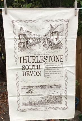Thurlestone: 2019. To read the story www.myteatowels.wordpress.com/2019/09/03/thu