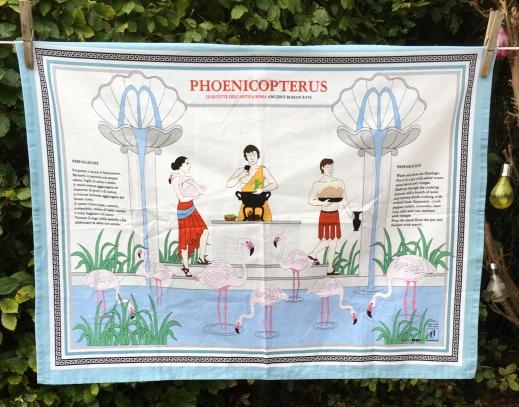 Phoenicopterus: 2019. To read the story www.myteatowels.wordpress.com/2019/10/27/pho
