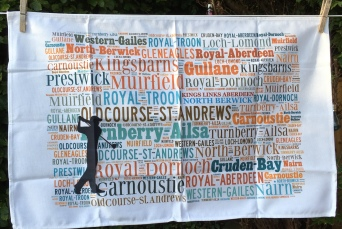 Scottish Golf Courses: 2019. To read the story www.myteatowels.wordpress.com/2019/10/11/sco