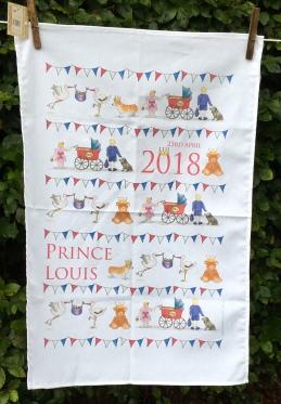 Prince Louis: 2018. To read the story www.myteatowels.wordpress.com/2019/09/29/pri