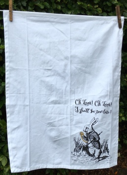 Alice's Adventures in Wonderland: 2019. To read the story www.myteatowels.wordpress.com/2019/11/02/ali