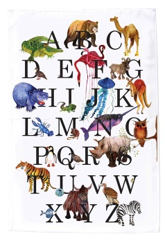 The Alphabet. On 'loan' from MollyMac